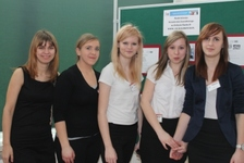 Uczennice Szkolnego Ośrodka Kariery
