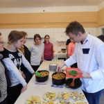 Zajęcia w szkolnej kuchni